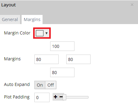 Styling margins